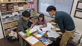地域創生フイールド演習でDIYSTYLEの実習に挑む京都府立大学の二回生