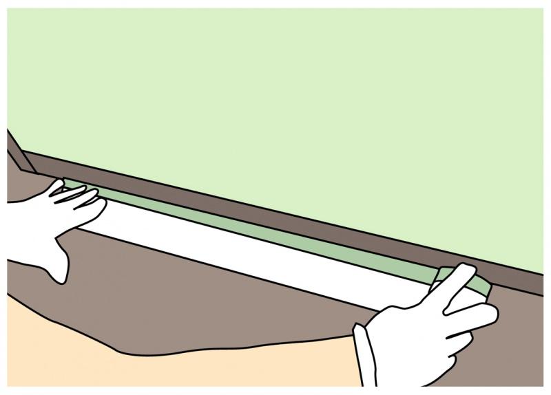 マスキングテープより広い面積を保護する場合は布コロナマスカーを使う